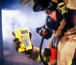 Star Trek technology: JCAD - Chemical Detection for Rescue Personnel