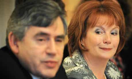 Gordon Brown and Hazel Blears