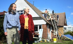 Green Home Makeover: Ann Link and her partner Richard Hudson at their home in Lewes