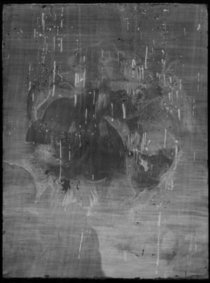 Michelangelo: X-radiograph of Michelangelo, The Torment of Saint Anthony