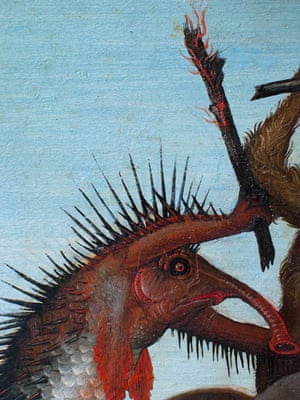 Michelangelo: Michelangelo, The Torment of Saint Anthony (detail)