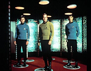 Star Trek technology: The transporter room on the Starship Enterprise