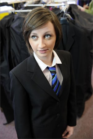 School uniforms: 2008: A new eco-blazer marketed by North Yorkshire firm School Colours