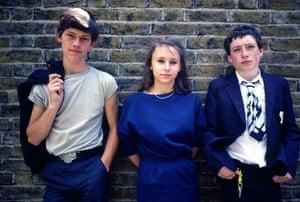 School uniforms: 'Zammo' Maguire in the the school drama 'Grange Hill'