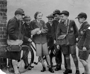 School uniforms: 1953: Pupils at Staffordshire's Rugeley Grammar School
