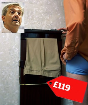 mp allowance claims: Chris Huhne claimed for a £119 trouser press