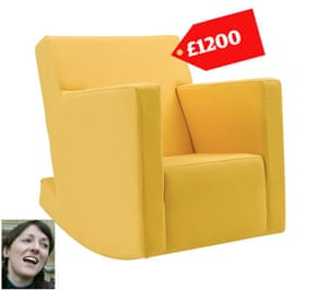 mp allowance claims:  Julia Goldsworthy claimed £1200 for a rocking chair