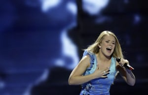 Eurovision finalists : Eurovision Song Contest Moscow 2009 Iceland's Yohanna