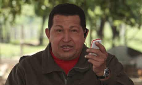 Hugo Chávez vergatorio phone