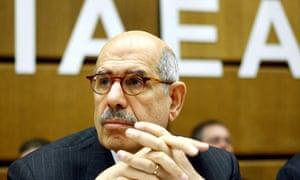 Director General of the International Atomic Energy Agency (IAEA), Egyptian Mohamed ElBaradei