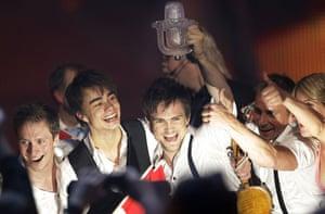 Eurovision final : Alexander Rybak of Norway wins Eurovision 2009