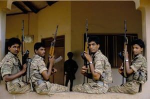 Tamil Tigers surrender: boy soldiers of the tamil tigers in 1991