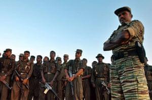 Tamil Tigers surrender: former Tamil Tiger Vinayagamoorthi Muralitharan AKA Colonel Karuna