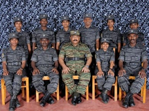 Tamil Tigers surrender: Velupillai Prabhakaran and Tamil Tiger suicide bombers in 2008