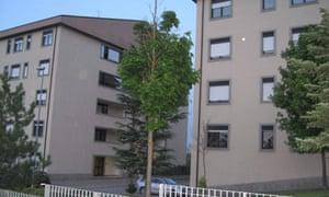 barracks accommodation G8 Coppito Italy