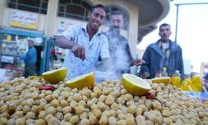 Lablaby, Iraqi street food