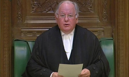 Commons Speaker Michael Martin announces his resignation