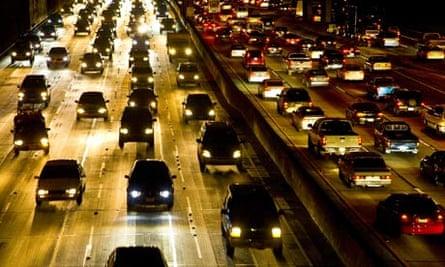 America: Congested traffic
