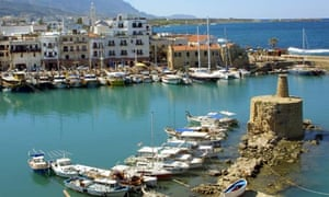 Northern Cyprus village of Kyrenia