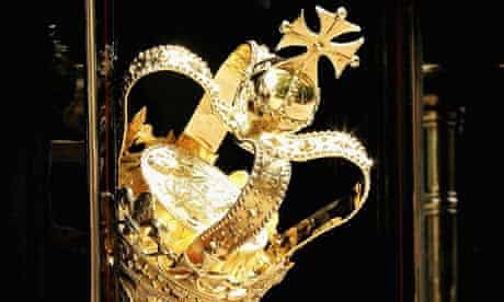 The ceremonial Mace of the house of commons