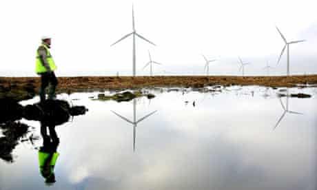 Whitelee Wind Farm, Scotland. Europe's Largest onshore windfarm.
