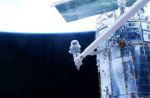 20 May 2009: Astronaut John Grunsfeld