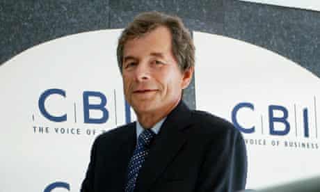 Martin Broughton, the CBI president. Martin Broughton, the CBI president.