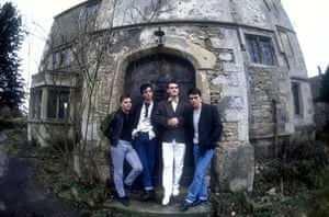 Morrissey: March 1987: Andy Rourke, Johnny Marr, Morrissey and Mike Joyce