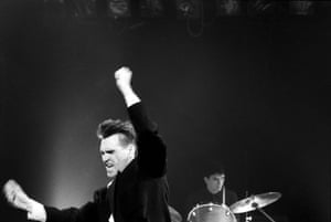 Morrissey: 22 February 2985: Morrissey performing with The Smiths