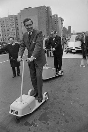 Green technologies: Senators on Electric Scooters