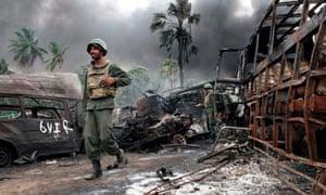 Sri Lankan government handout photo