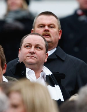 Relegation timescale: Mike Ashley