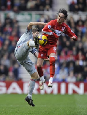 Relegation timescale: Gerrard and Tuncay