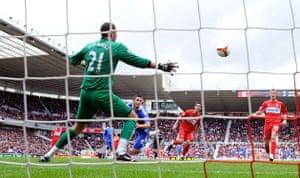 Relegation timescale: Frank Lampard scores