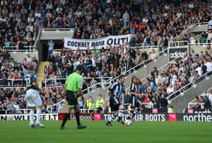 Relegation timescale: Newcastle fans let their feelings be known