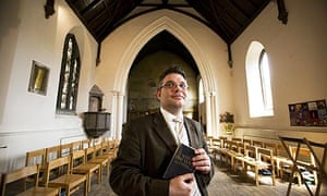 Rev Scott Rennie, the first openly gay Protestant minister appointed by the Church of Scotland.