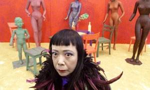 Japanese artist Yayoi Kusama