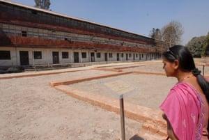 Narayanhiti Palace Museum: A Nepalese woman visits the Narayanhiti Palace Museum