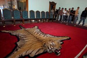 Narayanhiti Palace Museum: People visit the Narayanhiti Palace Museum