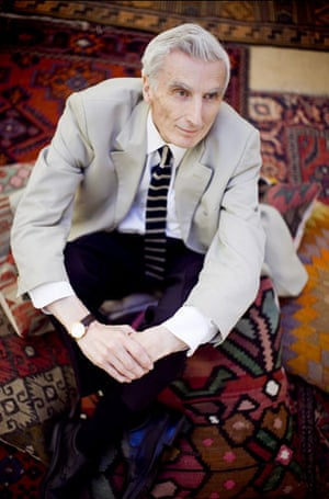 Hay festival yurt: Martin Rees, Professor of Cosmology and Astrophysic