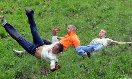 gloucestershire s annual cheese rolling cancelled due to health and