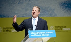 Al Gore at World Business Summit on Climate Change in Copenhagen
