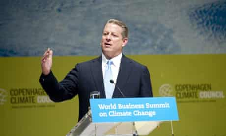 Al Gore at World Business Summit on Climate Change in Copenhagen