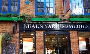 Neals Yard Remedies in Covent Garden