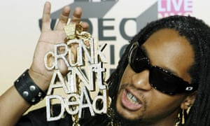Lil Jon and his record breaking Crunk ain't dead necklace