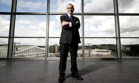 Terry Leahy, chief executive of Tesco.