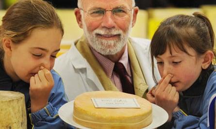 Stinking Bishop cheese is Britain's smelliest