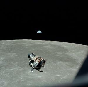 Apollo 11: The Eagle's ascent stage
