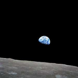 Apollo 8: Earthrise from the moon