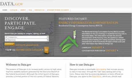 US governments data.gov site